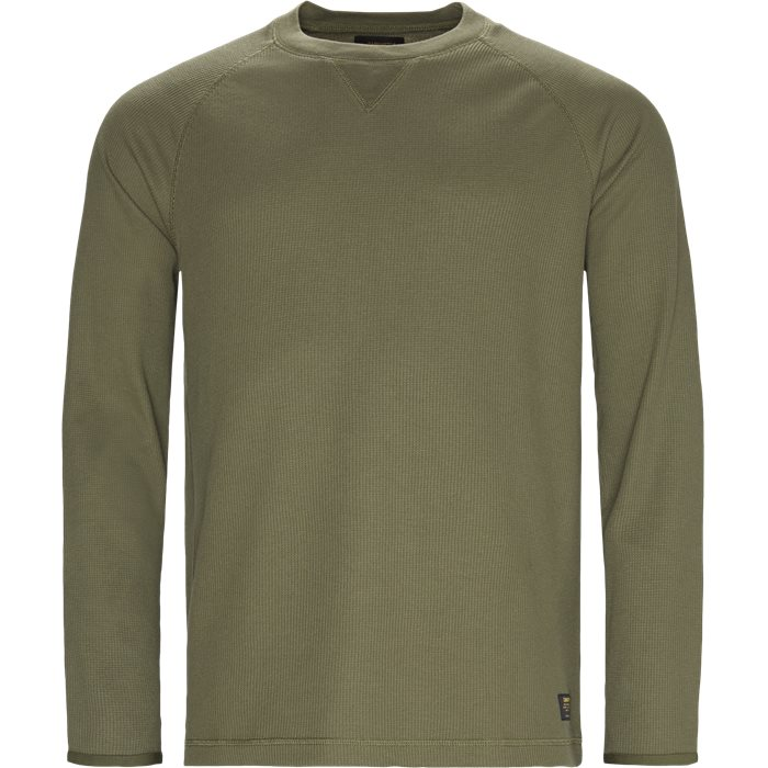 L/S Leeward - T-shirts - Regular - Grøn